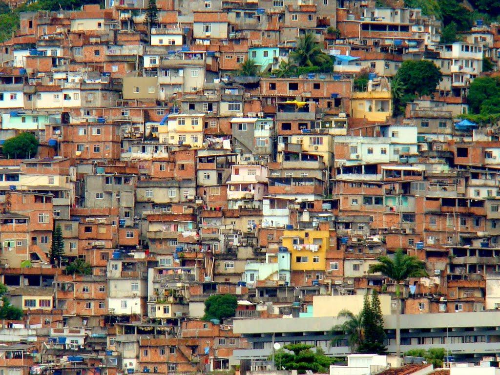La favela di Vidigal