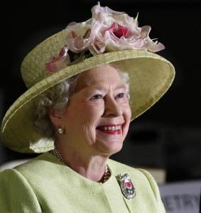 La regina madre Elisabetta