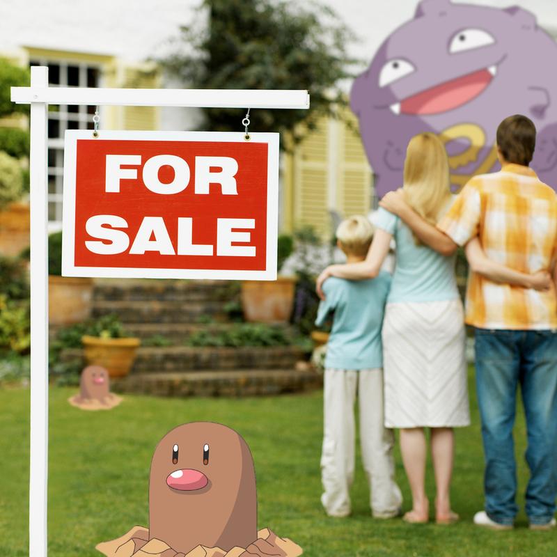 Pokémon Go influenza l'immobiliare.