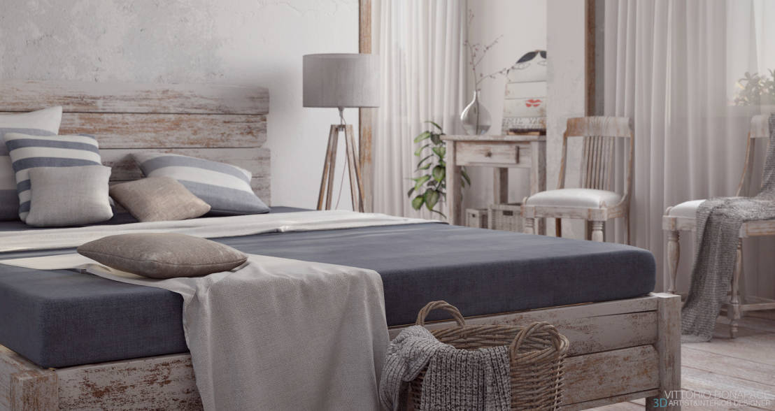 Beautiful Camera Da Letto Provenzale Pictures - Design Trends 2017 ...
