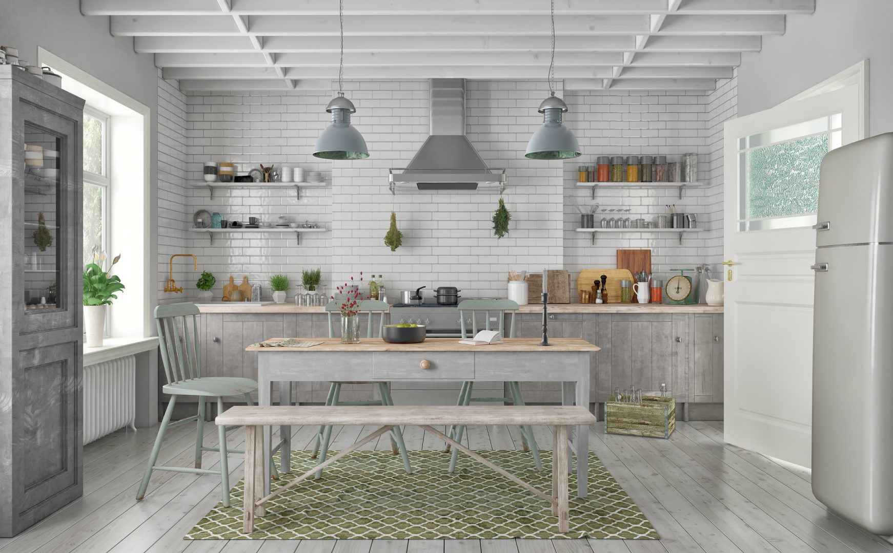 cucina-in-stile-shabby-chic