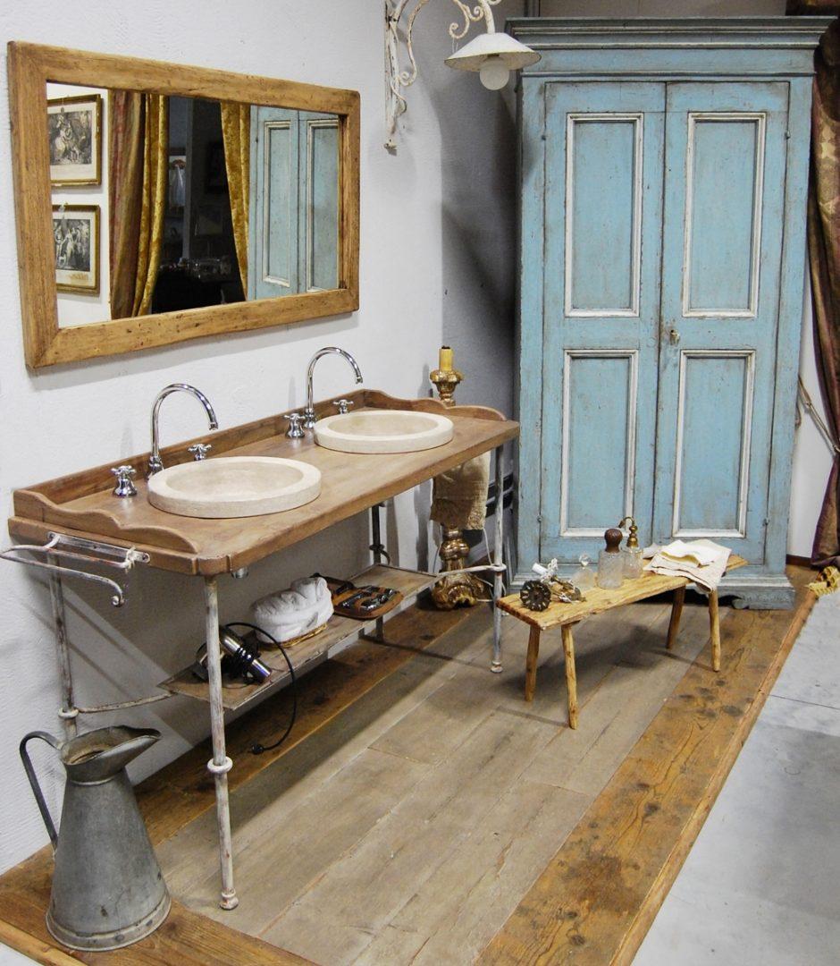 Disegno vintage bagno - Mobile bagno provenzale ...