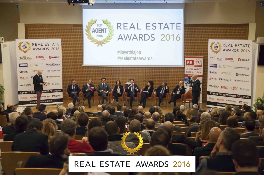 WikiCasa.it ai Real Estate Awards 2016.