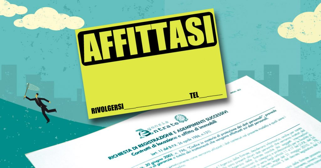 Registrazione contratto di affitto: a chi spetta e come funziona?