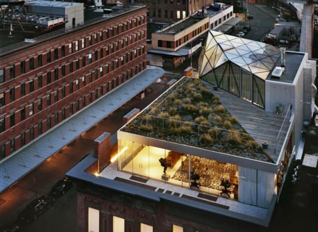 A New York le case si costruiscono sui tetti