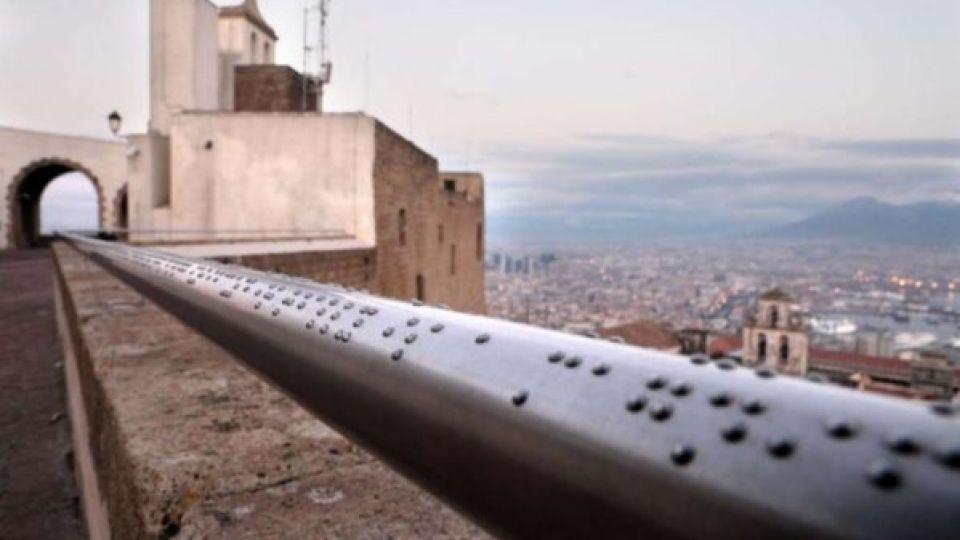 Napoli regala un panorama ai non vedenti