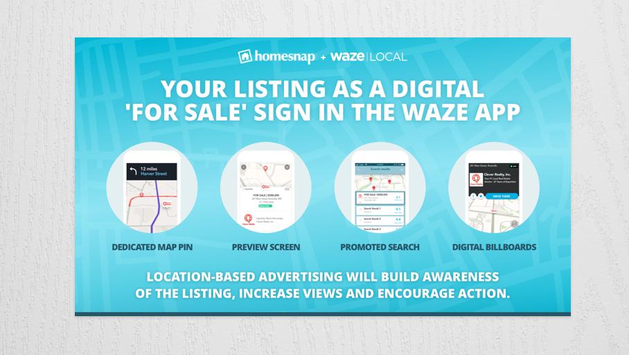Waze Ads by Homesnap: in America gli immobili si sponsorizzano sulle app di navigazione