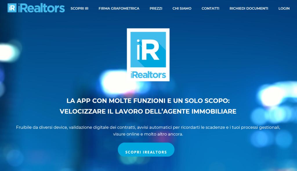iRealtors, la prima App per firmare digitalmente i contratti con un SMS