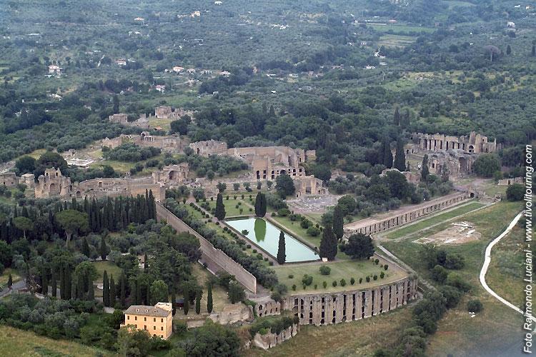 Patrimoni dell'Unesco, Villa Adriana, Tivoli